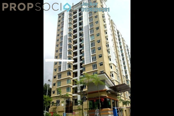 For Rent Condominium at Villa Park, Seri Kembangan Freehold Semi Furnished 3R/2B 1.25k