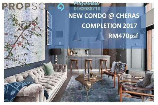 For Sale Condominium at Damai Hillpark, Bandar Damai Perdana Freehold Unfurnished 3R/2B 500k