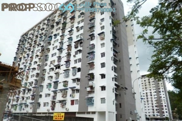 For Sale Apartment at Semarak Api, Farlim Freehold Semi Furnished 2R/1B 120k