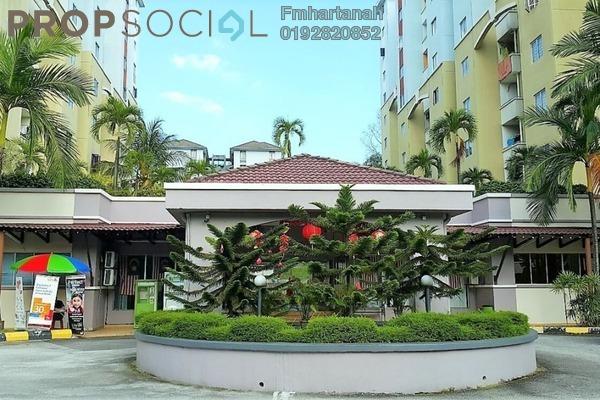 For Sale Condominium at Aliran Damai, Cheras South Freehold Unfurnished 3R/2B 350k