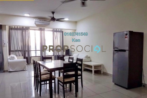 For Sale Duplex at Flexis @ One South, Seri Kembangan Leasehold Fully Furnished 2R/2B 550k