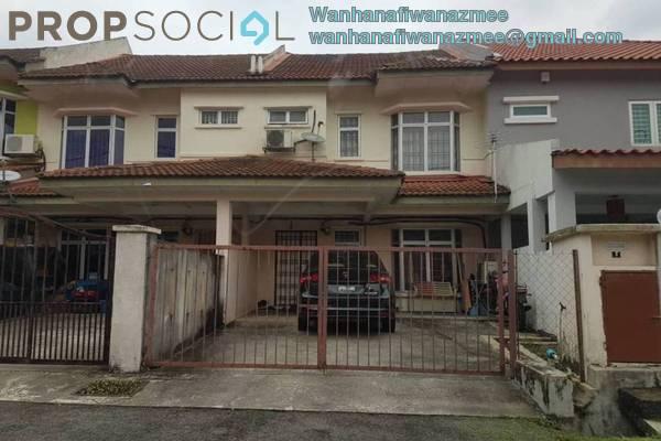 For Rent Terrace at Section 3, Bandar Mahkota Cheras Freehold Semi Furnished 4R/2B 1.2k