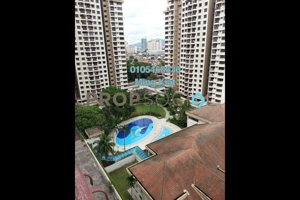 For Rent Condominium at Villa Angsana, Jalan Ipoh Freehold Semi Furnished 3R/2B 1.8k