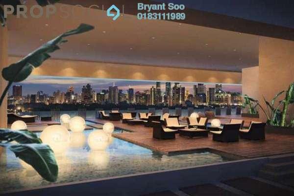 For Rent Condominium at Sentrio Suites, Desa Pandan Leasehold Semi Furnished 1R/1B 2.1k