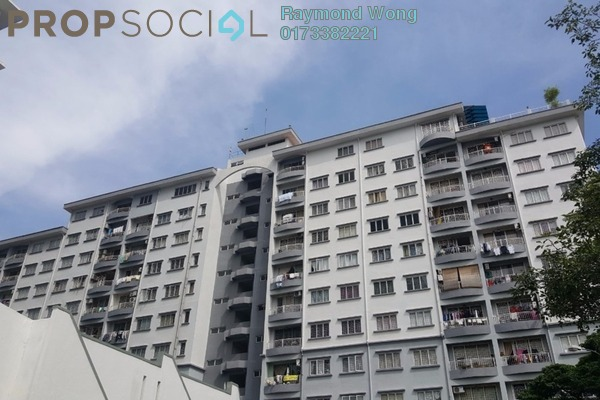 For Rent Apartment at Vista Harmoni, Cheras South Freehold Semi Furnished 3R/2B 1.05k