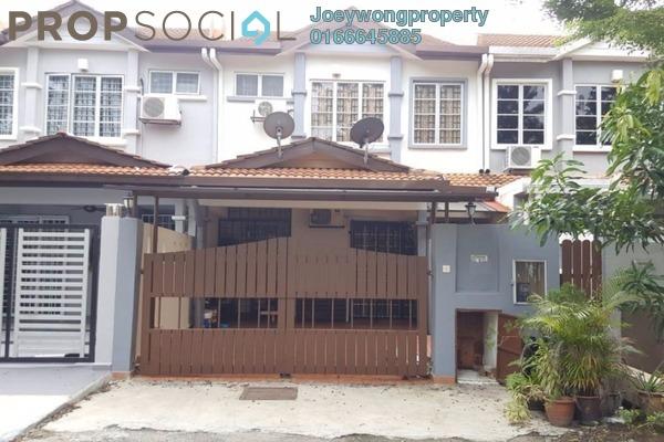 For Sale Terrace at PU6, Bandar Puchong Utama Freehold Semi Furnished 4R/3B 650k