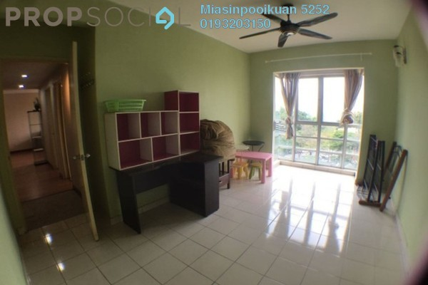 For Rent Condominium at Pelangi Indah, Jalan Ipoh Freehold Fully Furnished 3R/2B 1.5k