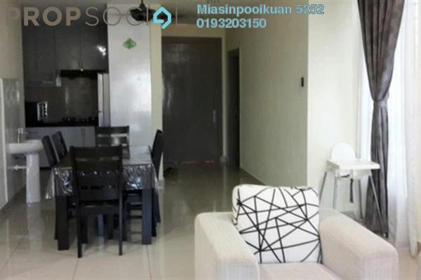For Rent Serviced Residence at The Loft @ ZetaPark, Setapak Leasehold Semi Furnished 3R/2B 2.1k