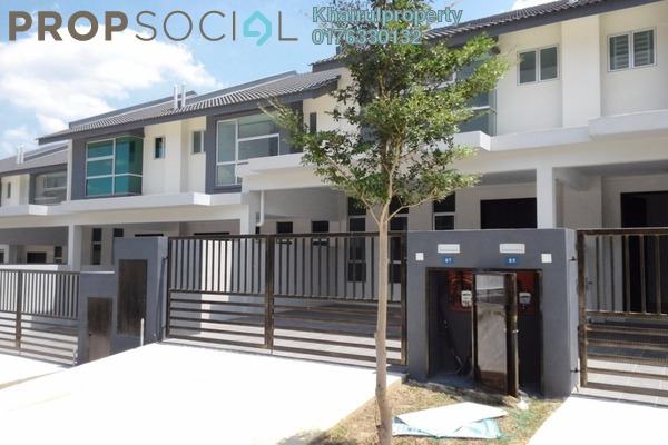 For Rent Terrace at Bangi Avenue, Kajang Freehold Semi Furnished 4R/4B 1.3k