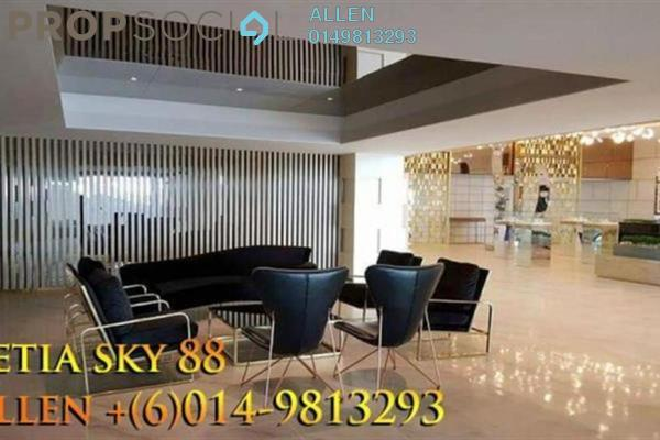 For Sale Serviced Residence at Setia Sky 88, Johor Bahru Freehold Semi Furnished 2R/2B 920k