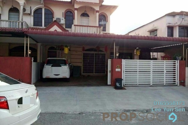 For Sale Terrace at Taman Song Choon, Ipoh Freehold Unfurnished 4R/3B 310k