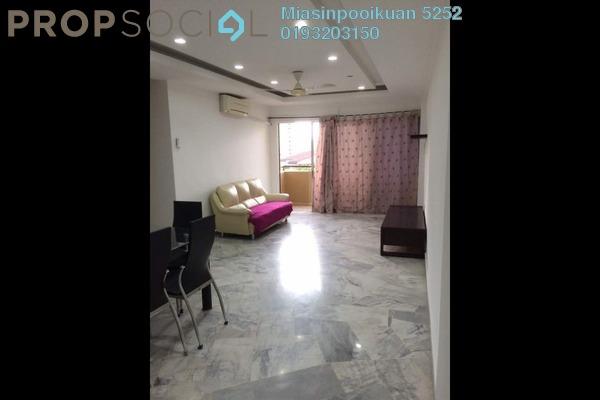 For Rent Condominium at Sri Desa, Kuchai Lama Freehold Semi Furnished 2R/2B 1.4k