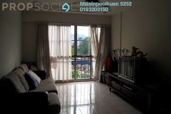For Rent Apartment at Sri Jati I, Old Klang Road Freehold Fully Furnished 3R/2B 1.5k