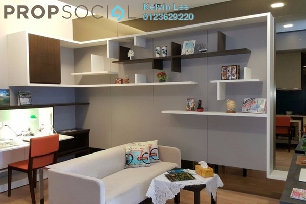 For Rent Condominium at Central Residence, Sungai Besi Freehold Fully Furnished 2R/2B 1.5k