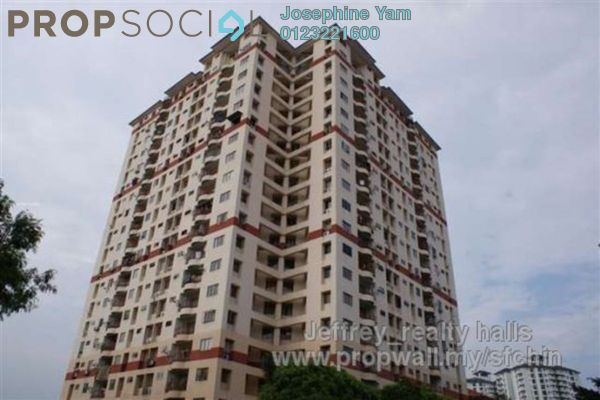 For Rent Apartment at Pandan Utama, Pandan Indah Leasehold Semi Furnished 3R/2B 1.3k