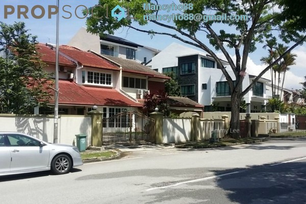 For Rent Bungalow at 10 Semantan, Damansara Heights Leasehold Semi Furnished 4R/3B 5k