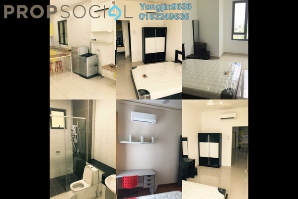 For Rent Serviced Residence at Da Men, UEP Subang Jaya Freehold Fully Furnished 0R/1B 2.2k