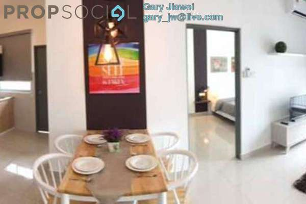 For Rent Condominium at The Aliff Residences, Johor Bahru Leasehold Fully Furnished 1R/1B 1.2k