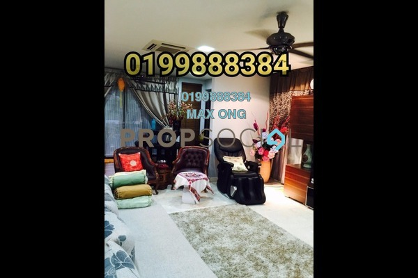 For Sale Link at Taman Ehsan, Kepong Leasehold Fully Furnished 4R/2B 615k