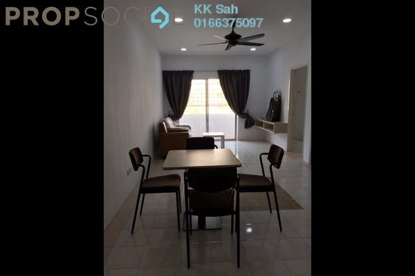 For Rent Apartment at Section 18, Shah Alam Leasehold Semi Furnished 3R/2B 1.2k