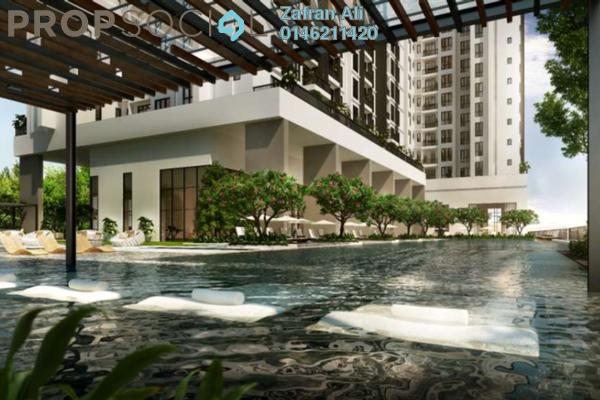 For Sale Condominium at Fera Residence @ The Quartz, Wangsa Maju Freehold Semi Furnished 0R/2B 420k