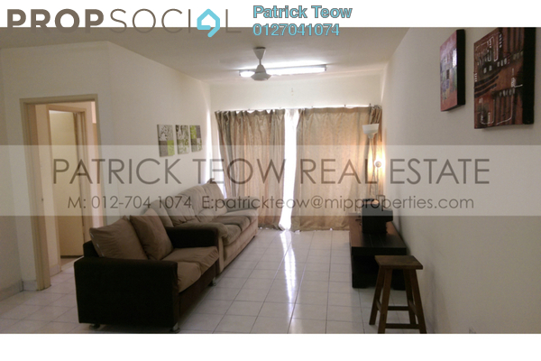 For Rent Apartment at Flora Damansara, Damansara Perdana Leasehold Fully Furnished 3R/2B 1k