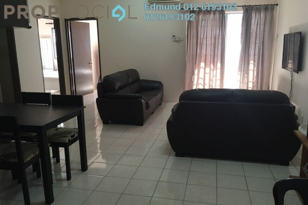 For Rent Condominium at Bayu Puteri, Tropicana Leasehold Fully Furnished 3R/2B 1.5k
