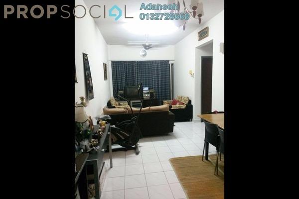 For Rent Apartment at Suria KiPark Damansara, Kepong Freehold Semi Furnished 3R/2B 1.1k