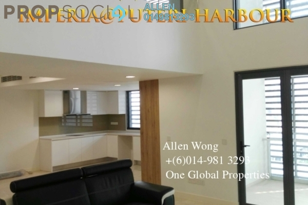 For Rent Condominium at Imperia, Puteri Harbour Freehold Semi Furnished 1R/1B 2.5k