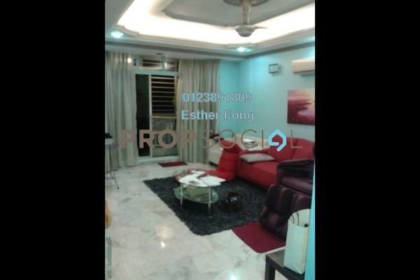 For Sale Apartment at Nova II, Segambut Freehold Semi Furnished 3R/2B 408k