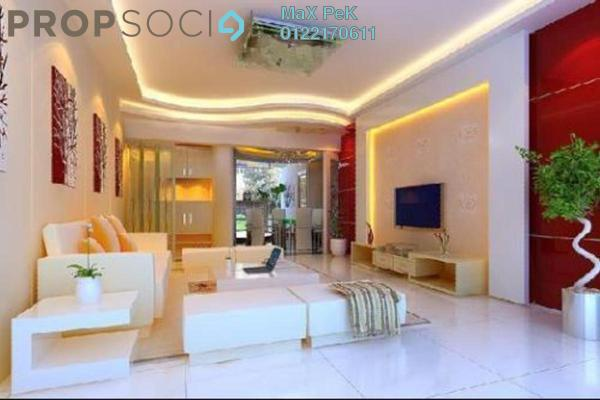 For Sale Condominium at Rica Residence, Sentul Freehold Unfurnished 2R/1B 449k