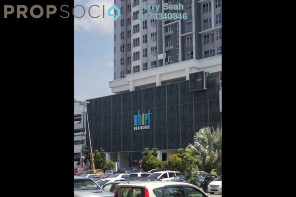 For Sale Serviced Residence at The Wharf, Puchong Leasehold Semi Furnished 2R/2B 333k