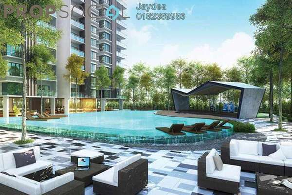 For Sale Condominium at Mahkota Walk, Bandar Mahkota Cheras Freehold Semi Furnished 3R/2B 488k