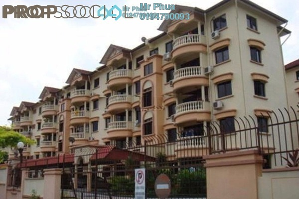 For Rent Apartment at Springfield, Sungai Ara Freehold Fully Furnished 3R/2B 1.2k