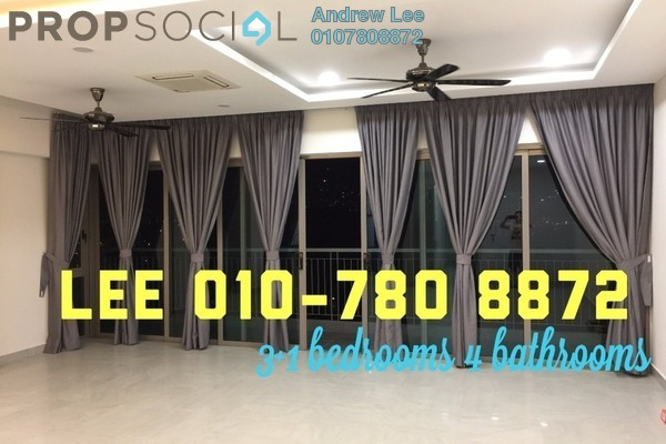 For Rent Condominium at KM1, Bukit Jalil Freehold Semi Furnished 3R/4B 3.9k