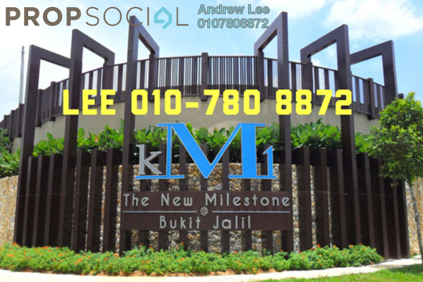 For Rent Condominium at KM1, Bukit Jalil Freehold Fully Furnished 3R/4B 3.7k