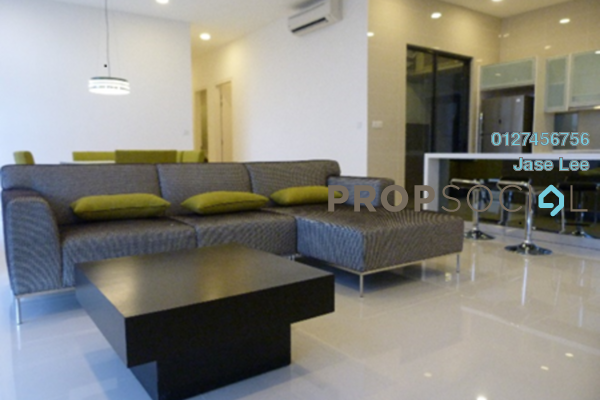 For Rent Condominium at Mirage Residence, KLCC Freehold Fully Furnished 3R/2B 5.9k