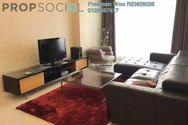 For Rent Condominium at Tiffani Kiara, Mont Kiara Freehold Fully Furnished 2R/2B 4.5k