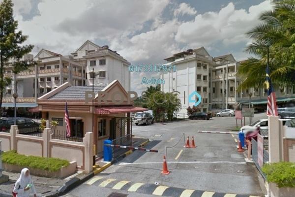 For Sale Condominium at Sri Ledang, Wangsa Maju Leasehold Semi Furnished 4R/2B 465k