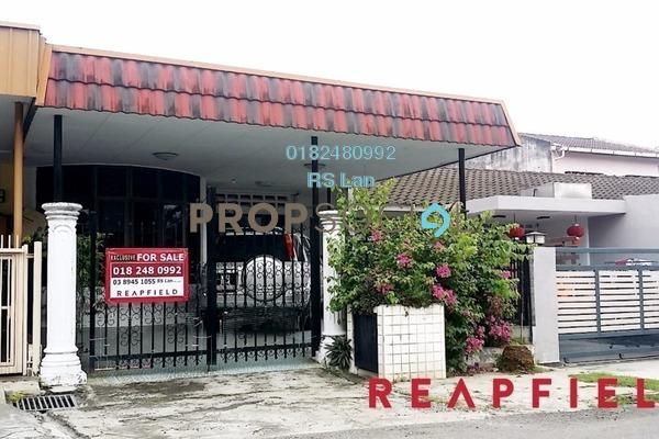 For Sale Terrace at Taman Seri Melati, Selayang Freehold Semi Furnished 3R/2B 600k