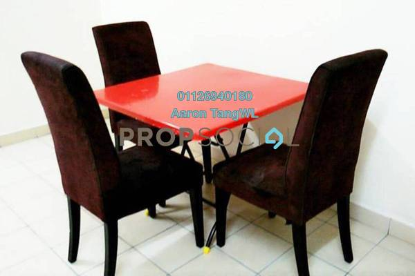 For Rent Condominium at Plaza Metro Prima, Kepong Leasehold Semi Furnished 3R/2B 1.5k