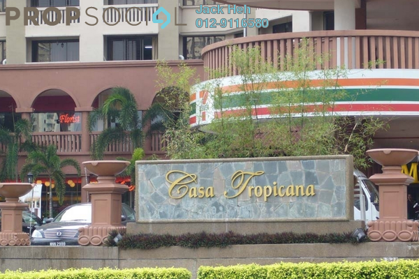 For Rent Shop at Casa Tropicana, Tropicana Leasehold Semi Furnished 0R/0B 3k