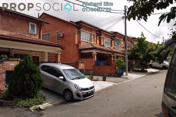 For Rent Townhouse at Palm Walk, Bandar Sungai Long Freehold Unfurnished 3R/2B 950translationmissing:en.pricing.unit