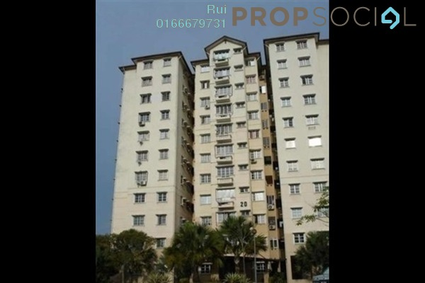 For Rent Condominium at Elaeis 1, Bukit Jelutong Freehold Semi Furnished 3R/2B 1.2k