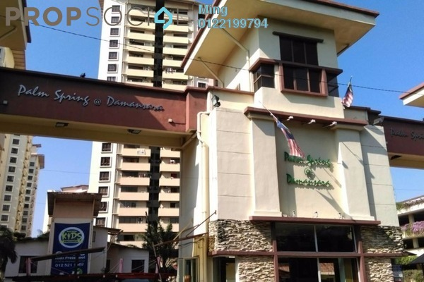 For Rent Condominium at Palm Spring, Kota Damansara Leasehold Fully Furnished 3R/2B 1.35k