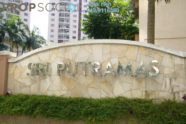 For Rent Condominium at Sri Putramas I, Dutamas Freehold Fully Furnished 3R/2B 1.7千