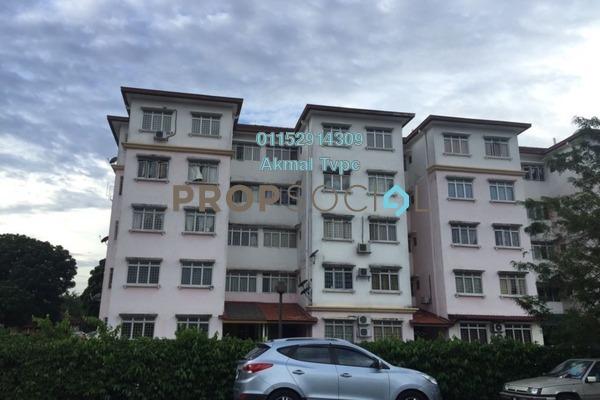 For Sale Apartment at Seri Melati Apartment, Bandar Seri Putra Freehold Unfurnished 3R/2B 220k
