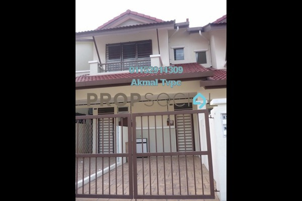 For Sale Townhouse at Bayu Parkville, Balakong Leasehold Unfurnished 3R/2B 340k