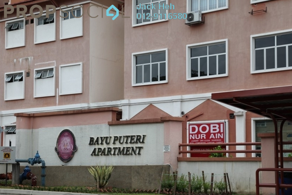 For Rent Condominium at Bayu Puteri, Tropicana Leasehold Fully Furnished 3R/2B 1.6k