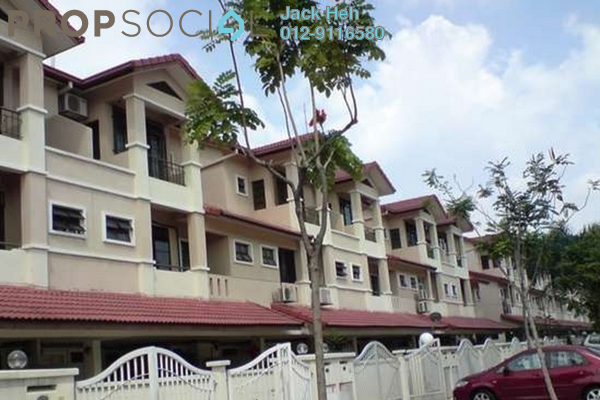 For Sale Townhouse at Parkville Garden Townhouse, Sunway Damansara Leasehold Semi Furnished 3R/4B 850k